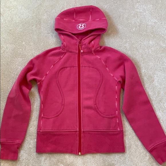 lululemon athletica Tops - lululemon athletica scuba hoodie sweatshirt size 6